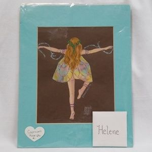 Helene Fairy Pastel Artwork by Sharon Deill 1998